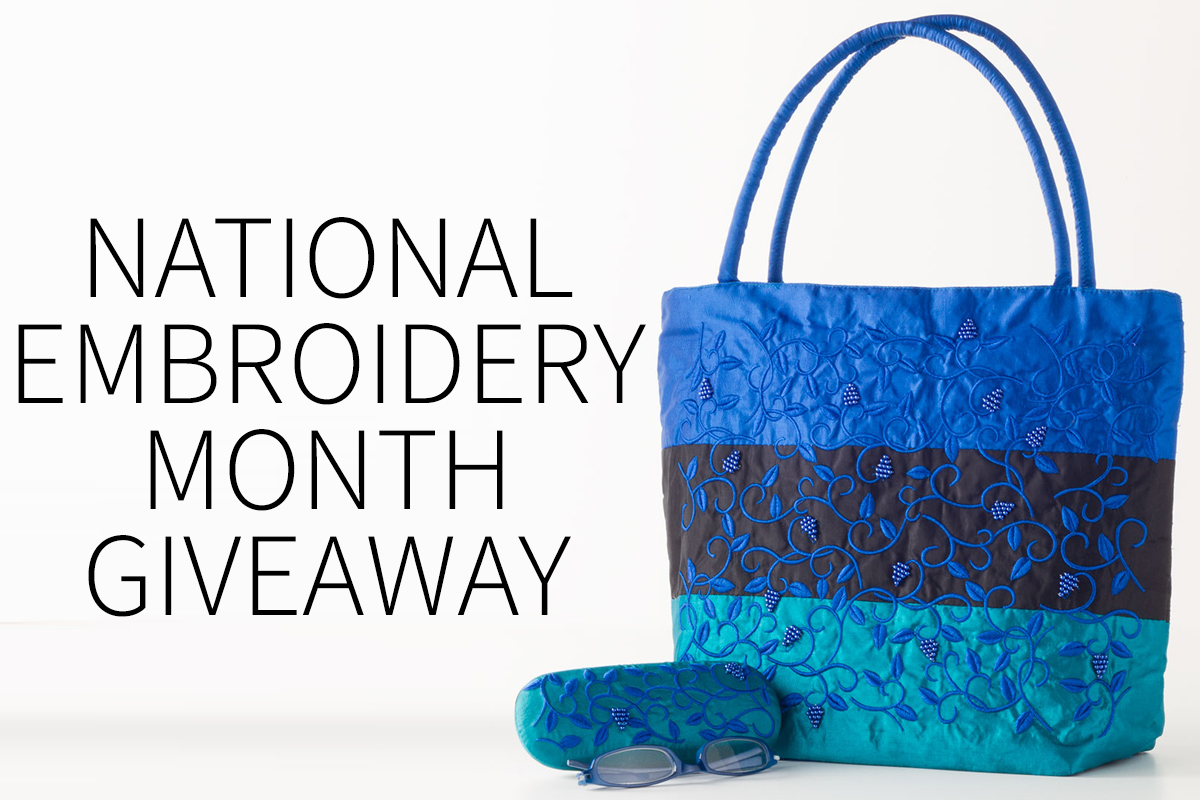 ARTifacts: National Embroidery Month Giveaway