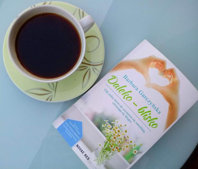 książka, okładka, kawa