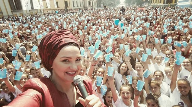 """Cup Song Albania"" broke Guinness Record with over"