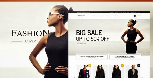Fashion Lover - Responsive Magento Theme