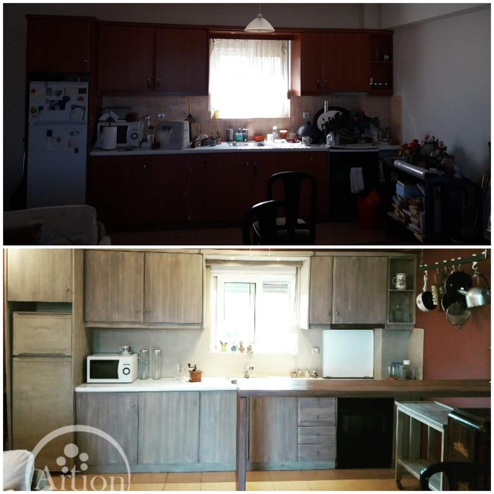 Αφιέρωμα: Κουζίνα! Έλα στην κουζίνα, βάζω καφέ! 7 Annie Sloan Greece