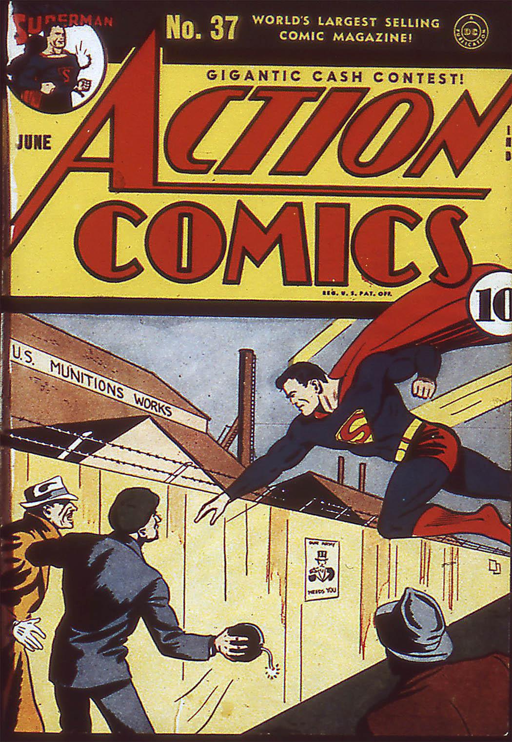 Action Comics (1938) 37 Page 1