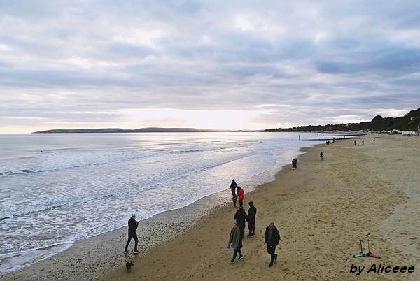 Bournemouth-plaja-Anglia