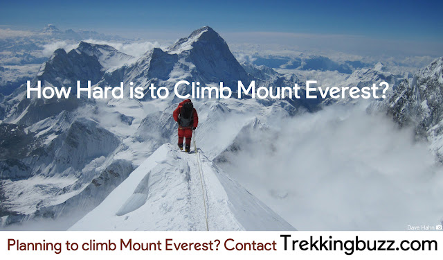 How difficult is to climb Mount Everest