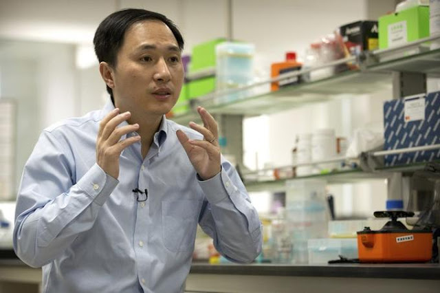 Chinese scientist makes claim of world's first gene-edited babies