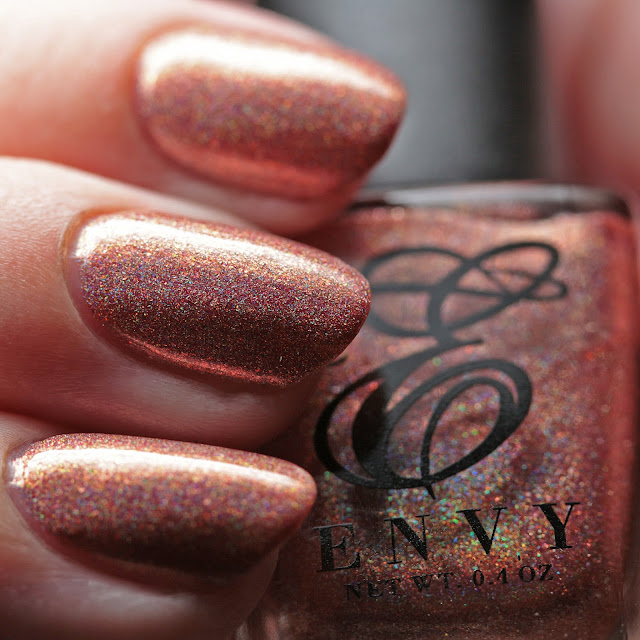Envy Lacquer Peach Bellini