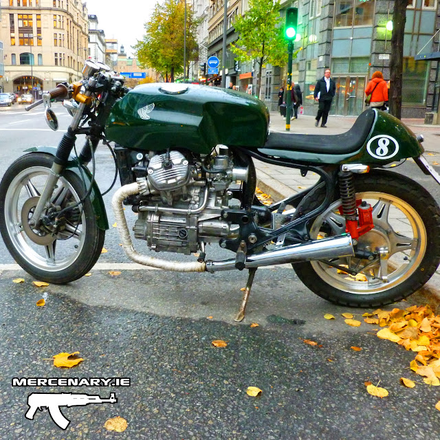 Stockholm CX Cafe Racer