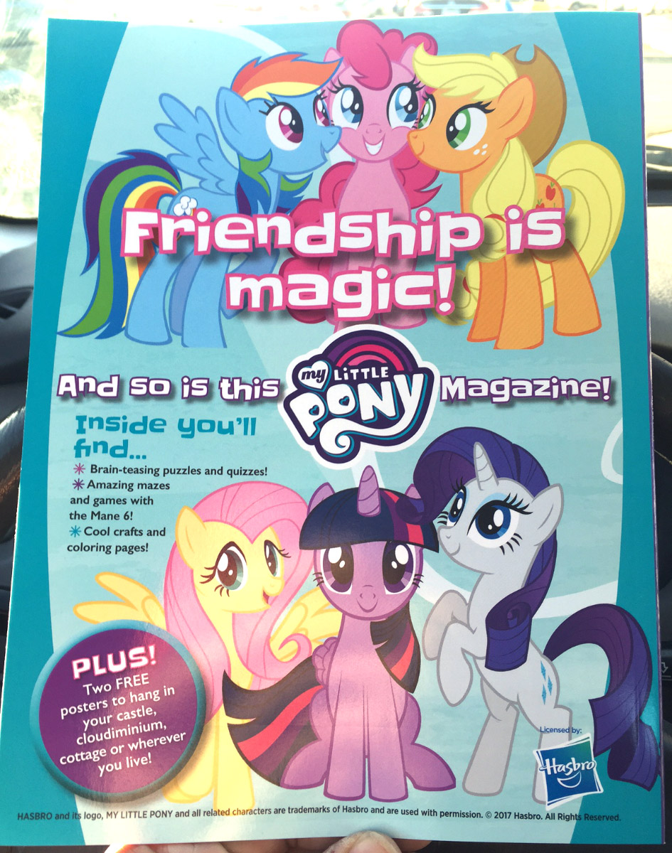 My Little Pony Magical Magazine Launced In The US