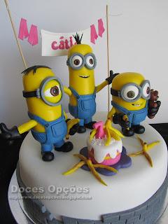 minions birthday cake