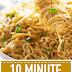 10 Minute Sesame Garlic Ramen Noodles