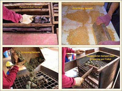 preparasi sampel bor nikel laterit