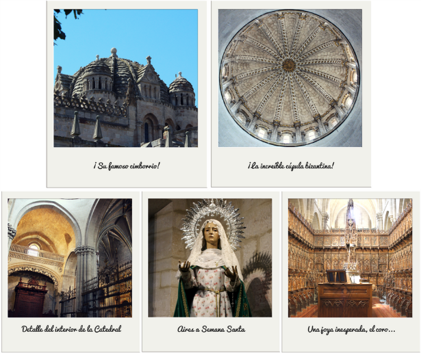 zamora la bien cercada catedral cimborrio