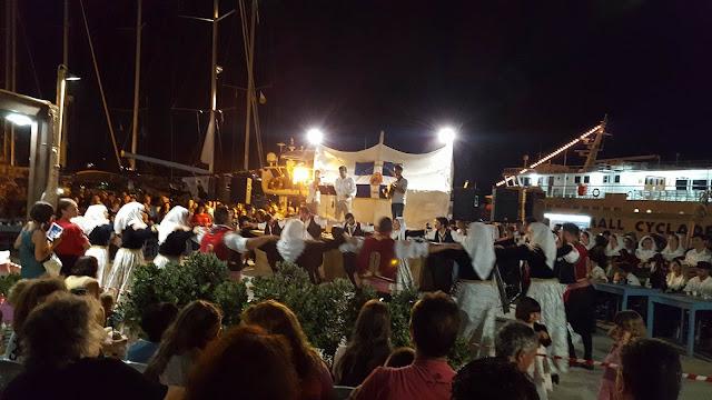 Το Εργαστήρι Ελληνικού Χορού στη γιορτή της Ψημένης Ρακής στην Αμοργό