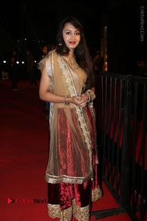 Actress Vennela Stills in Lehenga Choli at Gemini TV Puraskaralu 2016 Event  0049.JPG