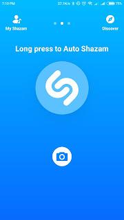 Shazam Aplikasi Musik Terbaik di Android