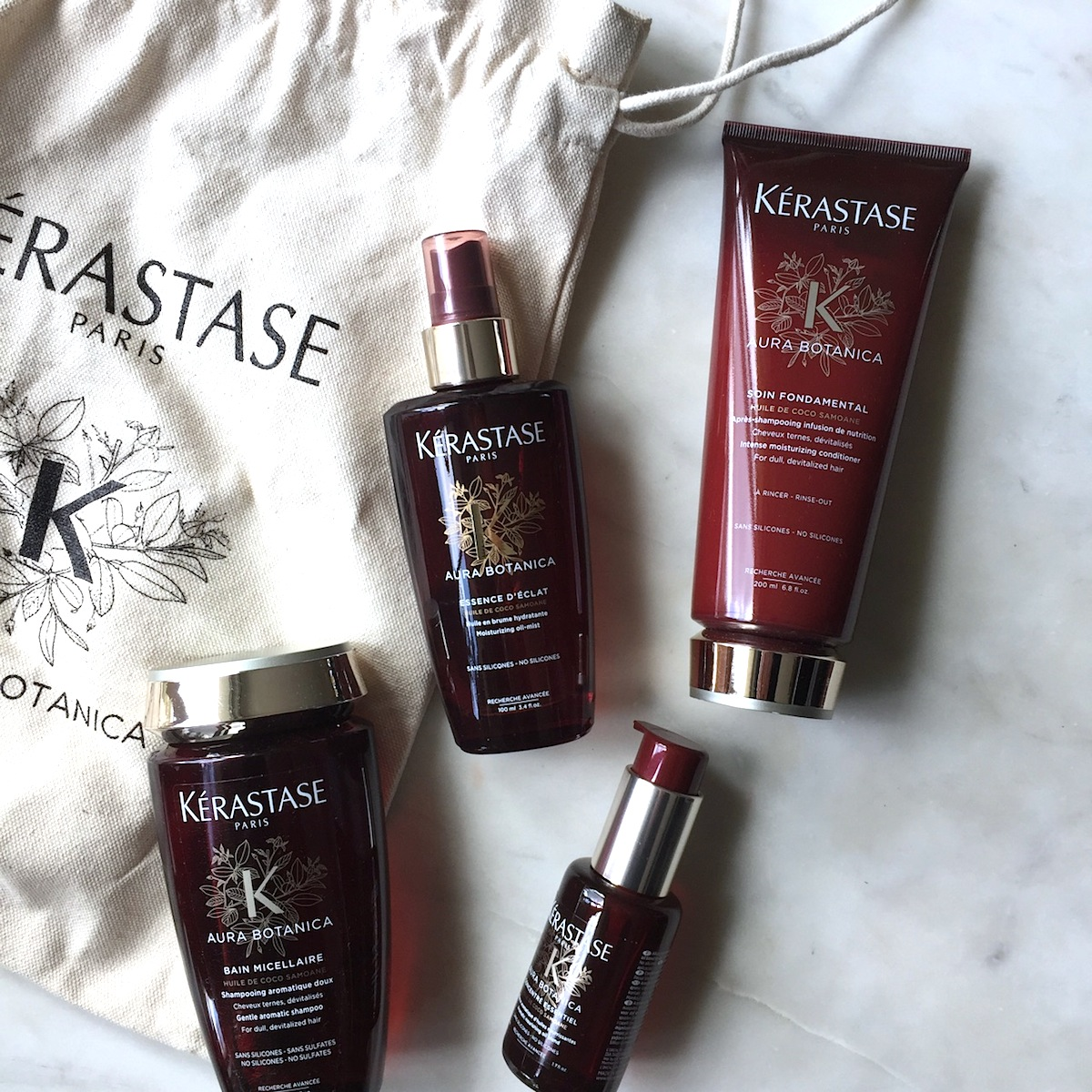 Kerastase Aura Botanica collection: A quick review