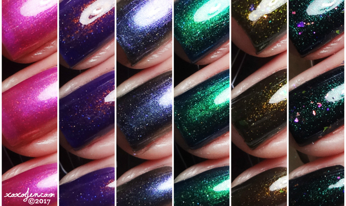 xoxoJen's swatch of Baroness X Shift in Space-Time Collection