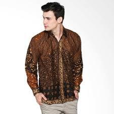 Baju Kemeja Batik Keris Pria Lengan Panjang