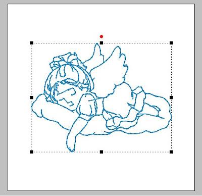 Matrizes grátis Anjo dormindo