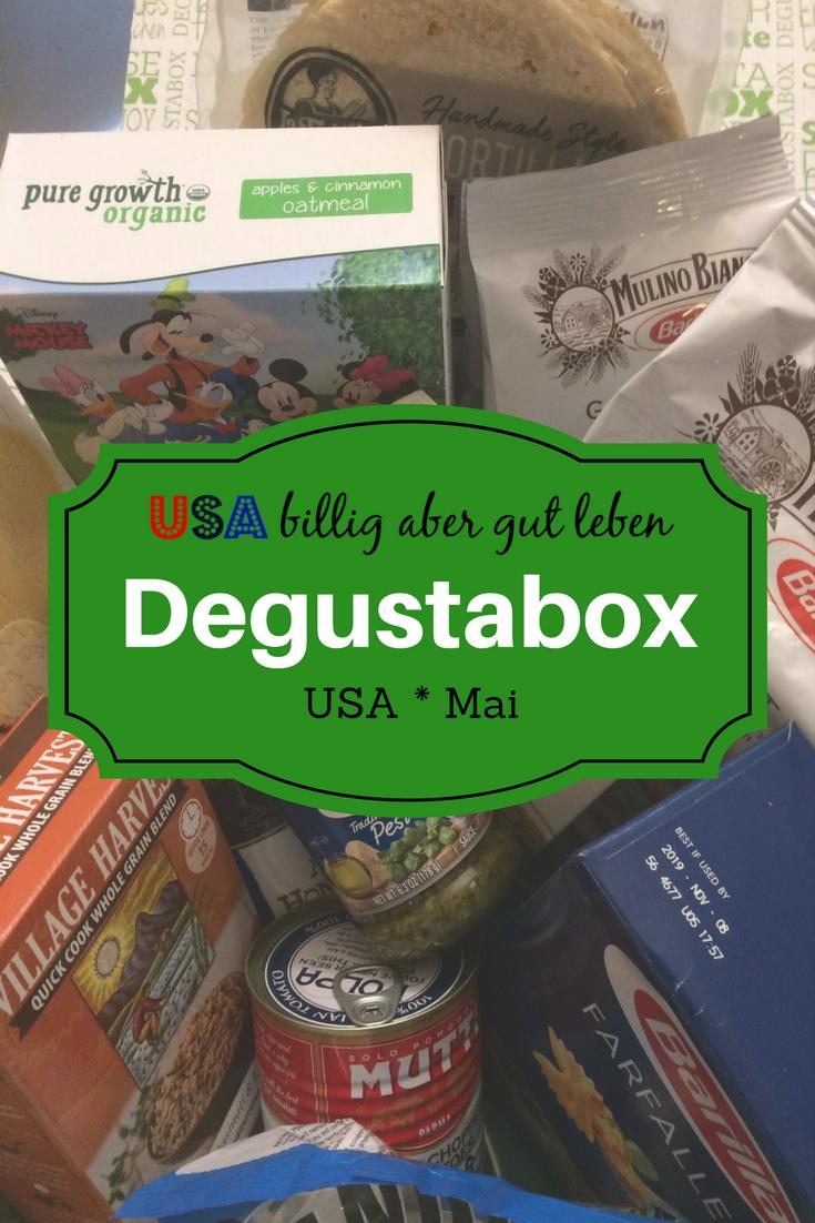 Degustabox im Mai