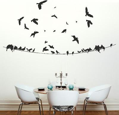 Adesivo de parede para decoração, inspirações