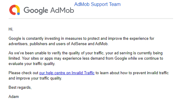 Admob Ads Limit: Ads Serving Limited, Low Match Rate, Low Earning