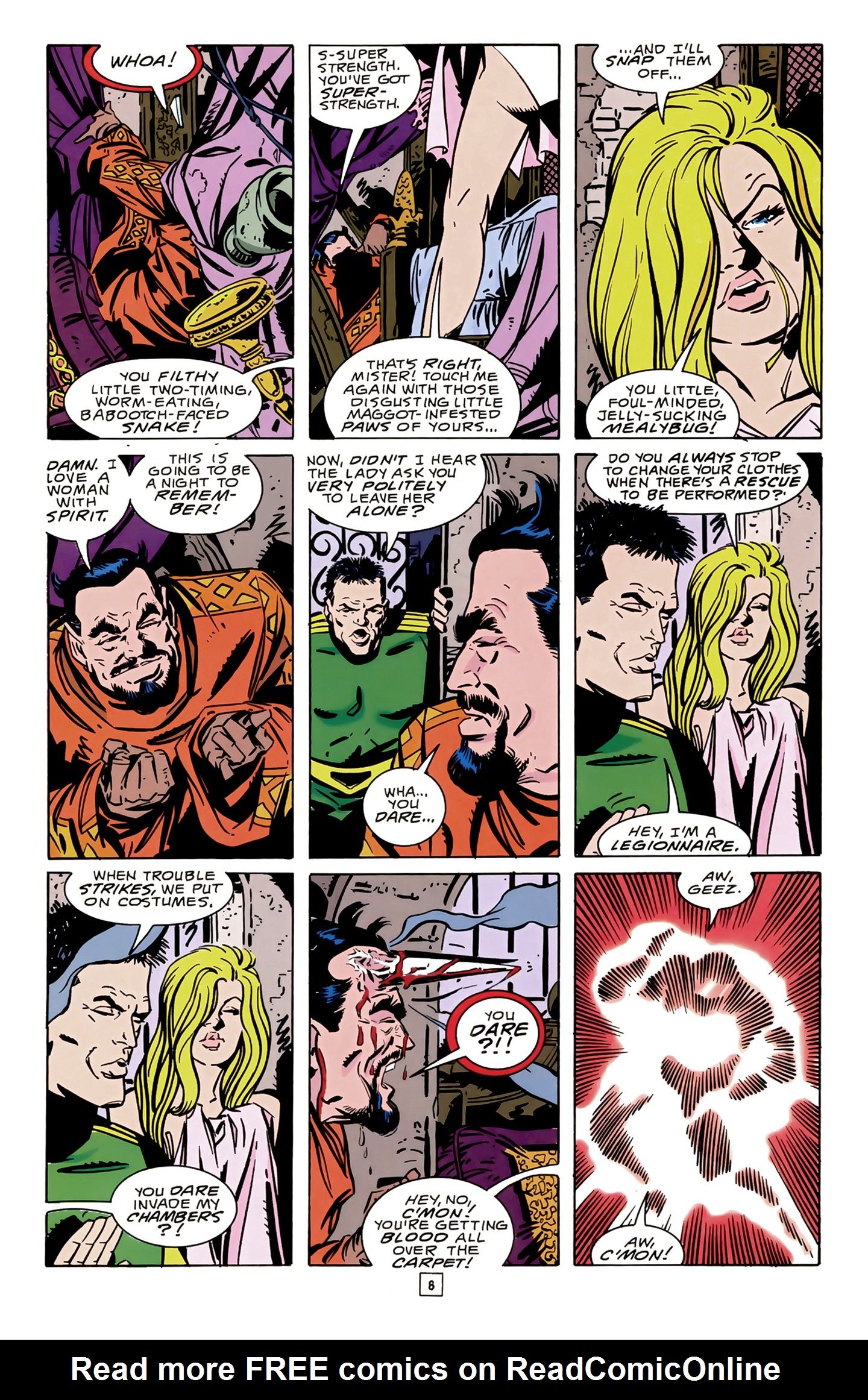 Legion of Super-Heroes (1989) 14 Page 8