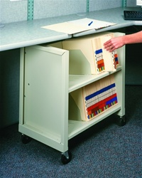 Small Office File Cart