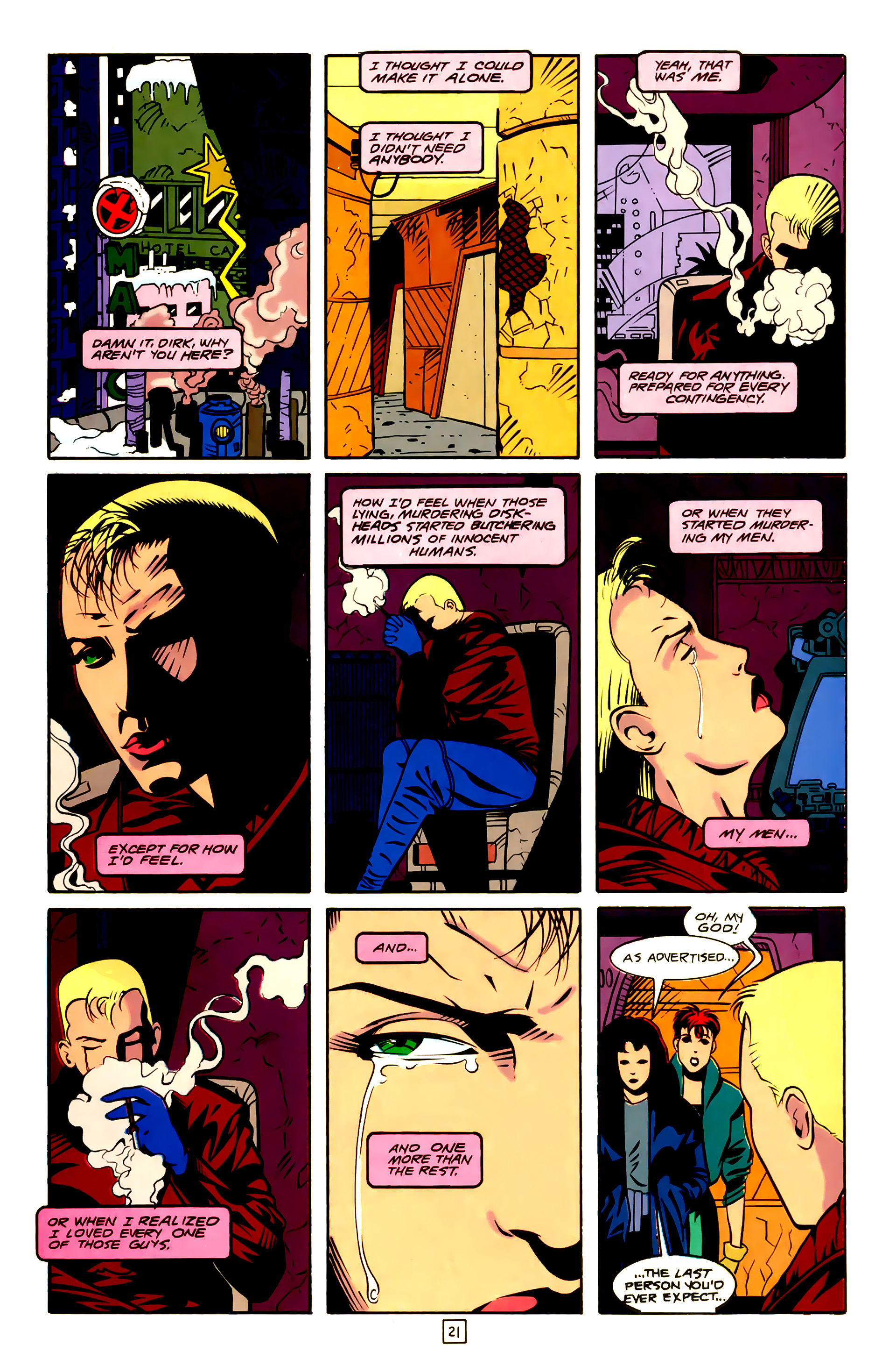 Legion of Super-Heroes (1989) 23 Page 21