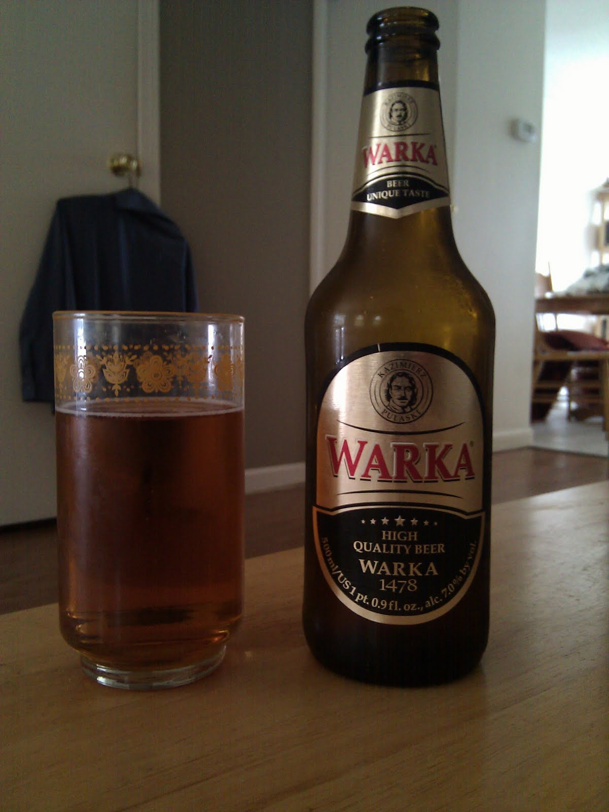 Warka Brewery S Strong Lager I Love The Sauce