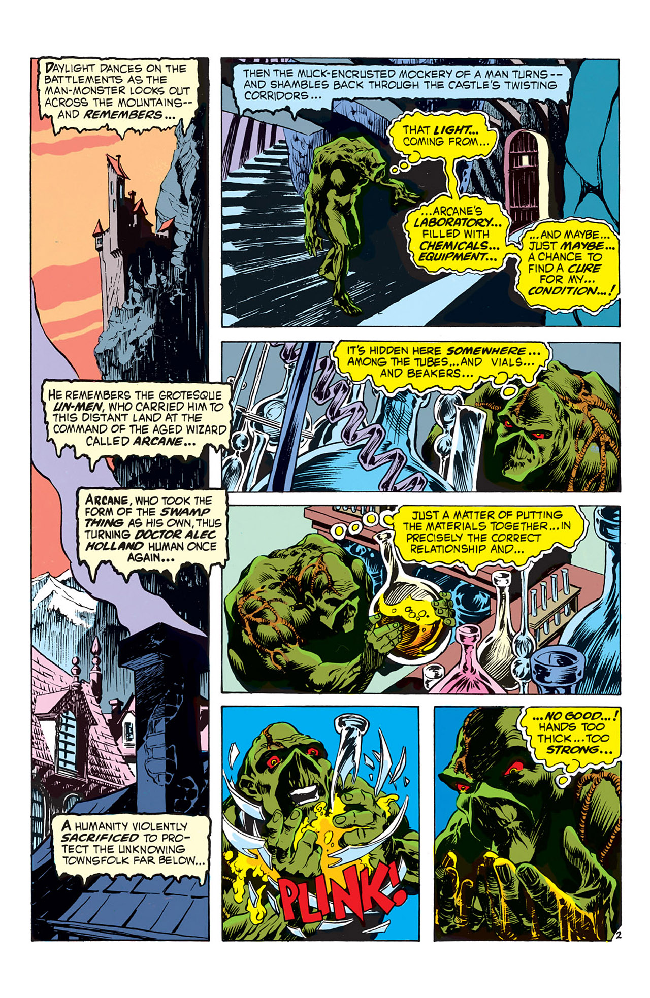 Swamp Thing (1972) Issue #3 #3 - English 3