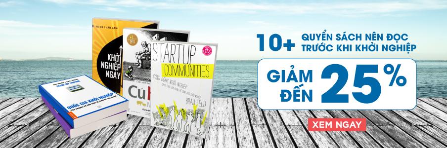 Những quyển sách hay về khởi nghiệp kinh doanh mà bạn nên đọc
