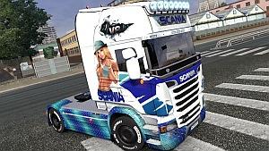 Scania R Eve Art skin mod