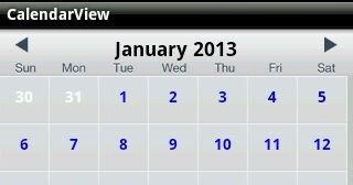 Android Calendar Sync | Android Custom Calendar | Android Calendar