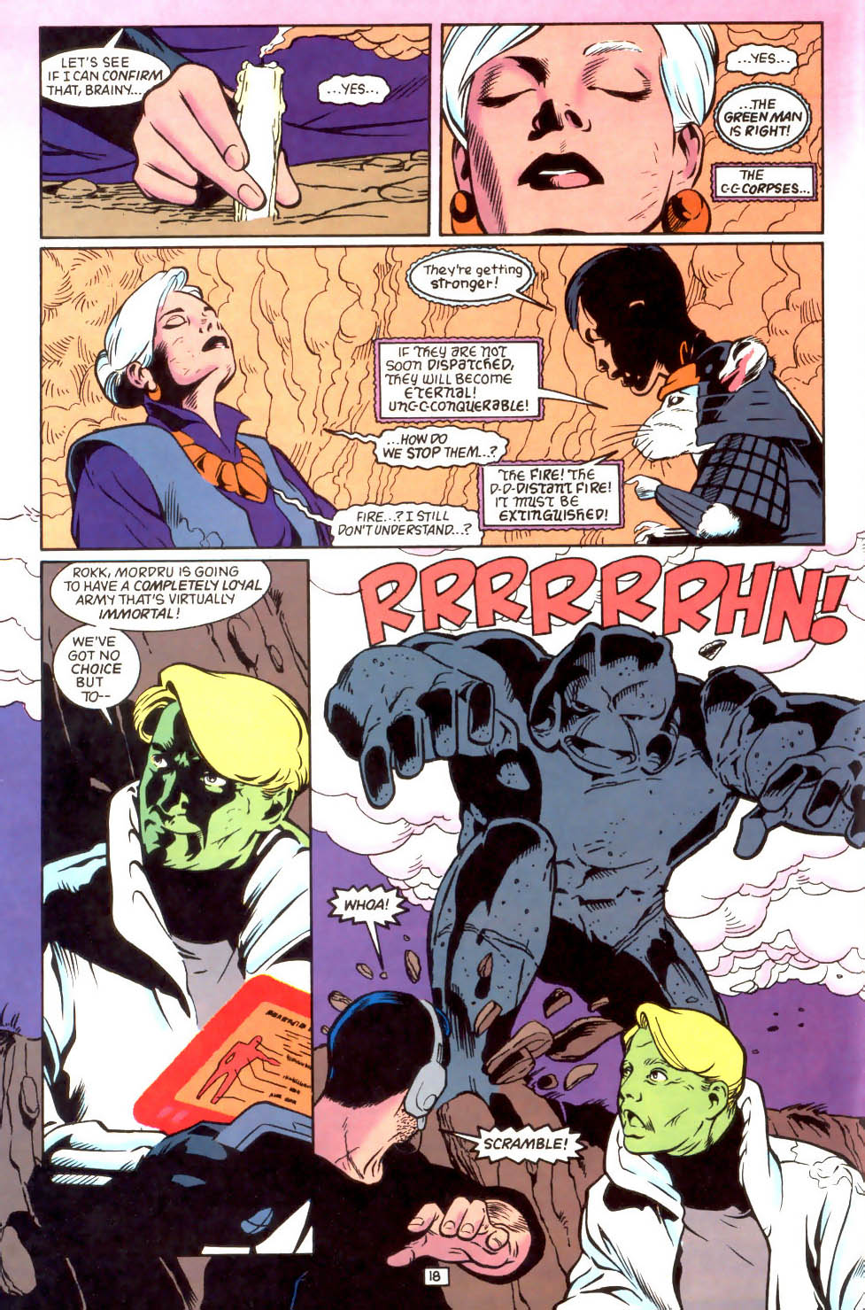 Legion of Super-Heroes (1989) 46 Page 18