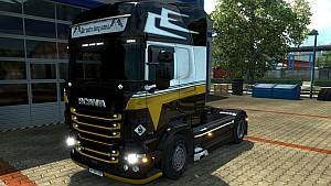 Scania RJL Black Holland