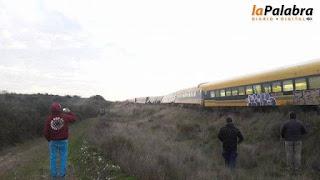 Descarriló el Tren Patagónico