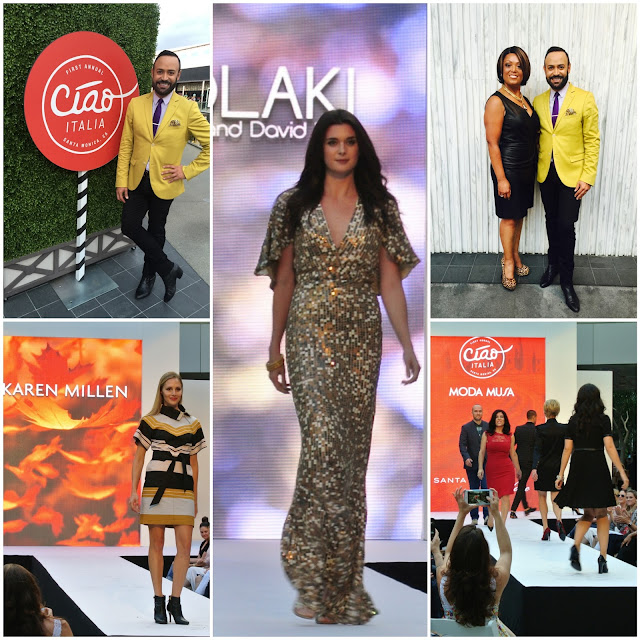 NICK HOSTS.....Nick Verreos Hosts the MODA MUSA Fashion Show Santa Monica Place, NIKOLAKI Collection + Much More: BLOG Recap!