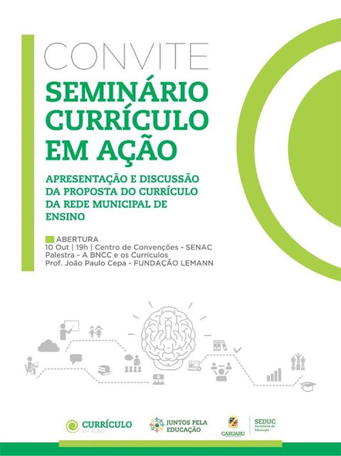 Secretaria de Educação de Caruaru promove Seminário Currículo em Ação