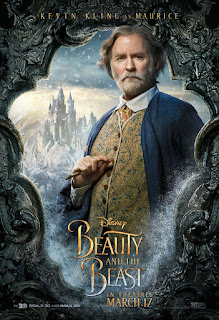 Beauty and the Beast (2017) Poster Kevin Kline