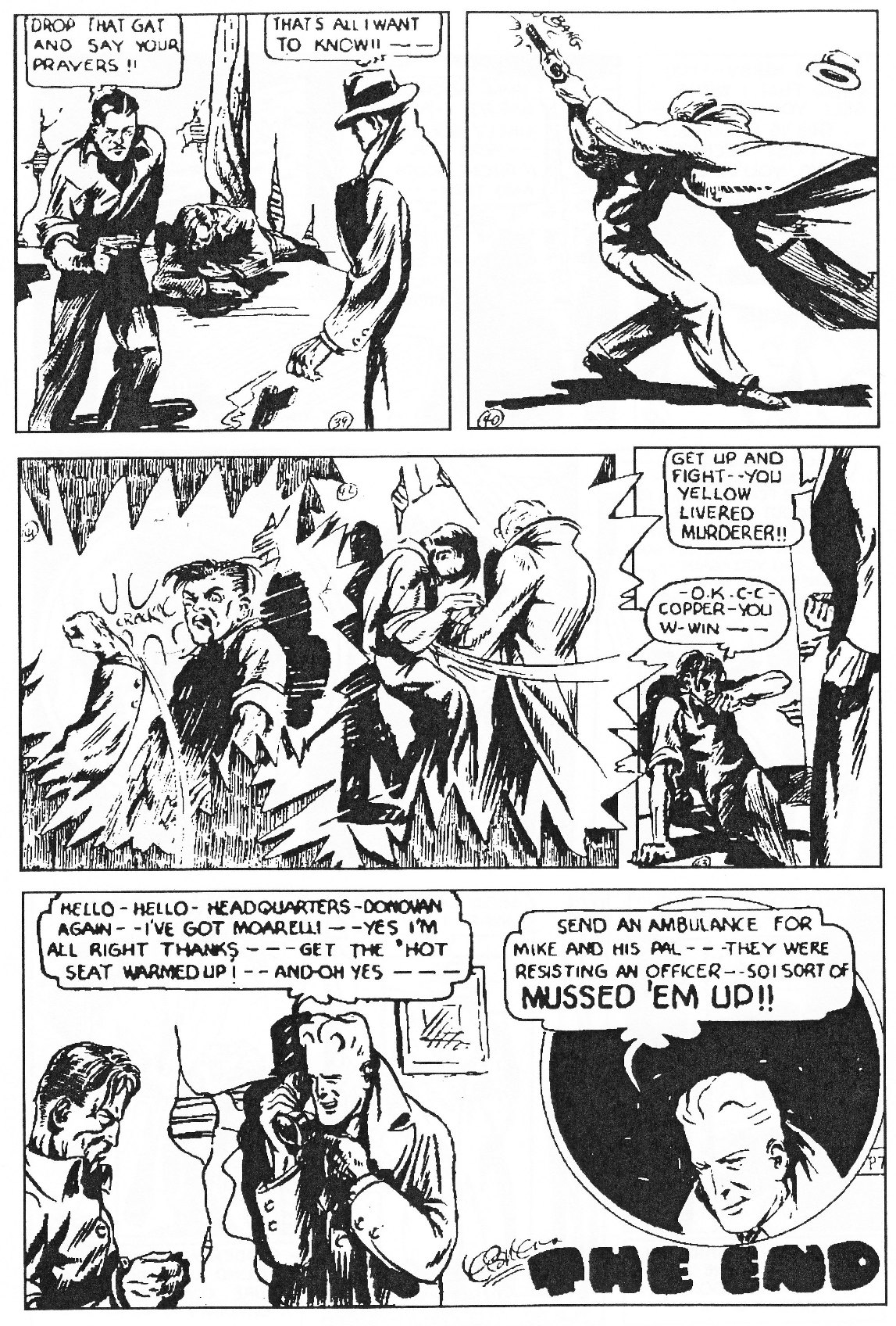Read online Men of Mystery Comics comic -  Issue #81 - 218