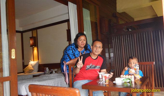 Balkon Hotel Novotel Bogor