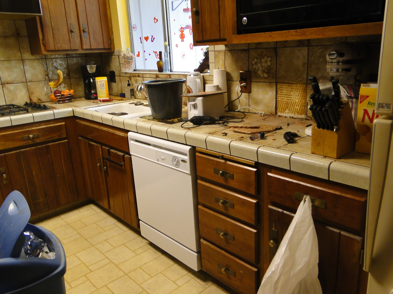 kitchen renovations on a budget carousel utensil holder not ashamed remodel shoestring