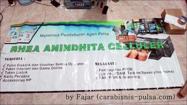 Hasil Jasa Desain dan Cetak Banner Spanduk