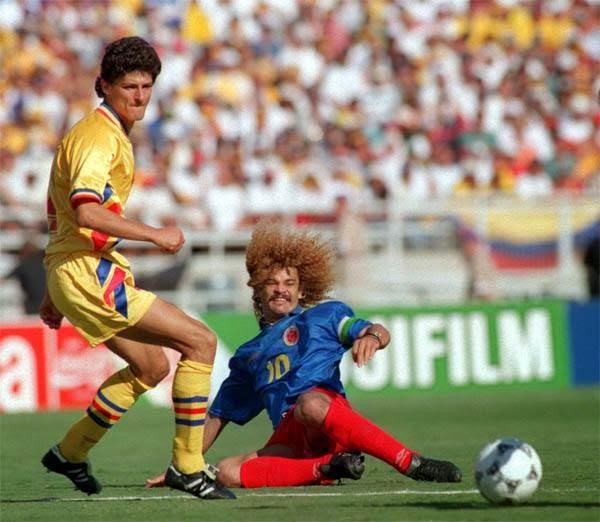 Resultado de imagen para colombia rumania 94