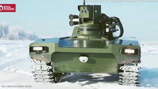 روسيا تتحدا لعالم بروبوتاتها العسكرية (جيش الروبوتات القاتلة)