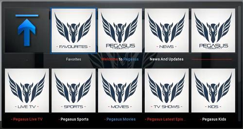 تركيب إضافة Pegasus لمشاهدة أفضل القنوات العالمية على برنامج Kodi