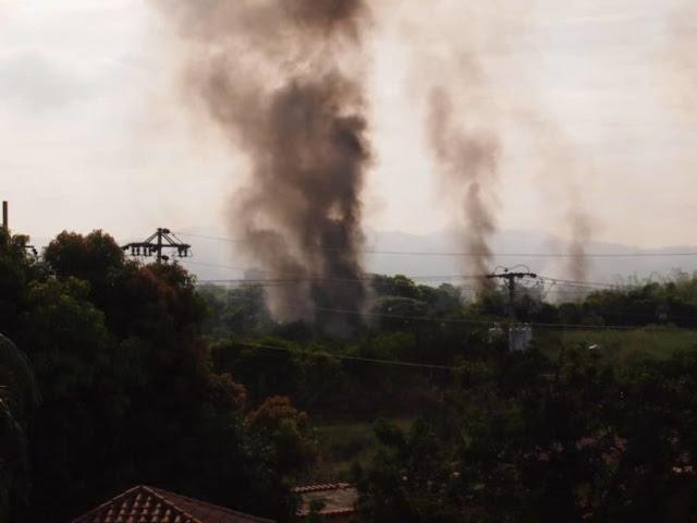Una persona terminó lesionada por incendio de Pdvsa en Guatire