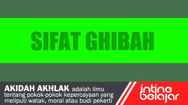 Pengertian Ghibah