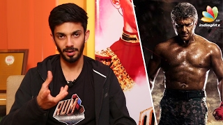 Interview : Anirudh inspires on Ajith's body transformation for Vivegam   Rum Tamil Movie